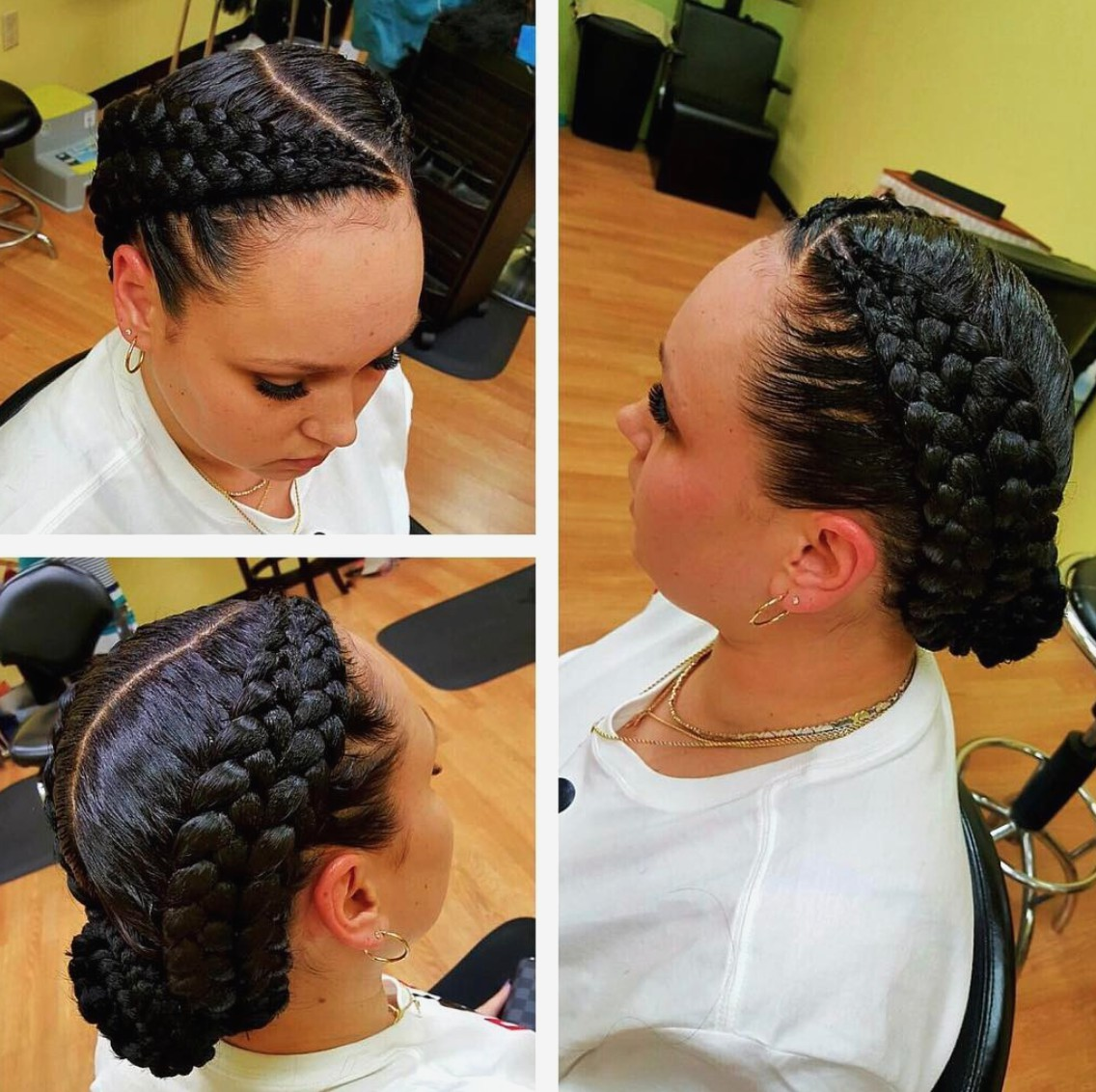 Feed Braid Unconventional Hairstyle